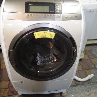 日立 10kg/6kgドラム式洗濯乾燥機 2015年製 BD-V...