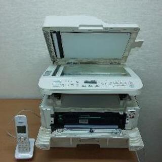 富士通 レーザープリンタ搭載複合機➕子機付き