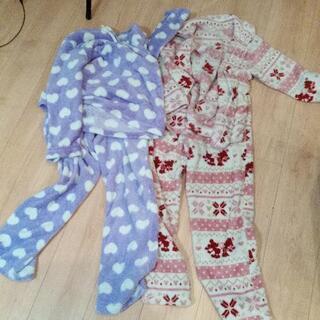 140 女の子パジャマ 2セット