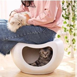 【ネット決済・配送可】洗える ペットベッド ペットハウス