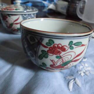 湯呑茶碗5個セット蓋付き