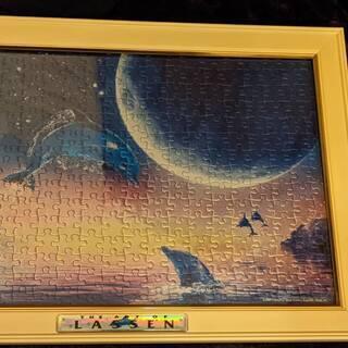【完成品】LASSEN 光る300ピースパズル