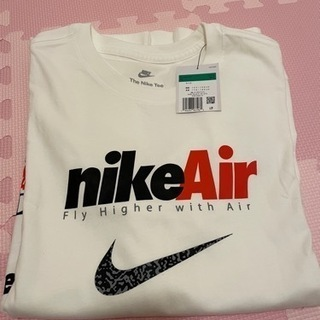 新品 XL NIKE ナイキ エア ロンT 長袖Tシャツ 白