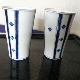 陶磁器のコップ