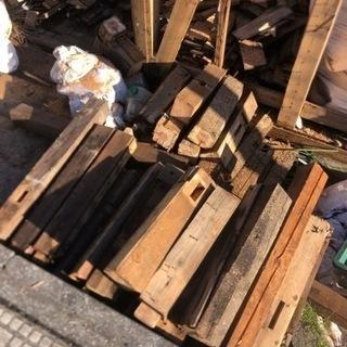 【無償】民家解体後の木材お譲りします