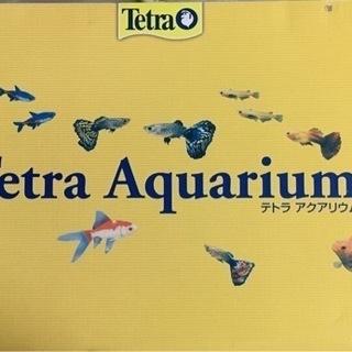 テトラ・36ℓガラス水槽【新品、未使用】現金受け渡しのみ!