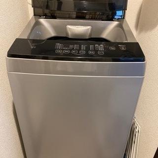 1回のみ使用アイリスオーヤマ全自動洗濯機6kg