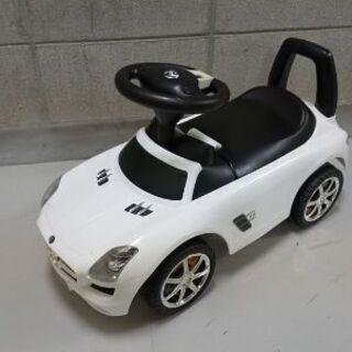 子供用 乗用メルセデスベンツSLS AMG ホワイト