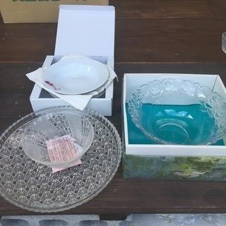 全部で500円 ガラス皿類