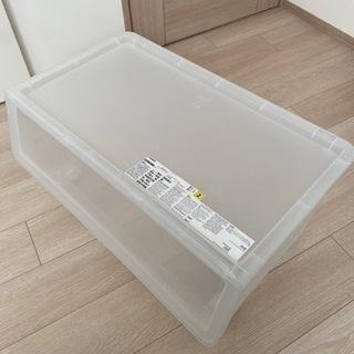 【ネット決済】【新品未使用】IKEA プラスチック収納ケース