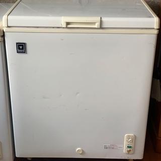 冷凍ストッカー 冷凍庫 146L 使用かようも難あり