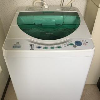 差し上げます。7.0 洗濯機 ナショナル