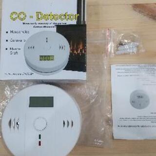キャンピングカー LCDデジタル一酸化炭素検出器 COセン…