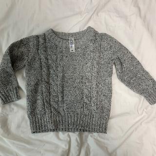 セーター(90)とあったかベスト(100)