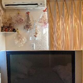 ジャンク品 フラットパネルデジタルテレビ