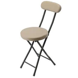 (予約中)(色違い ブラン)ニトリ 折りたたみ椅子