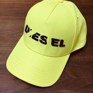【新品】DIESEL ディーゼル キャップ 黄色 イエロー