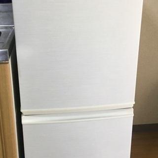中古品 シャープ製冷蔵庫