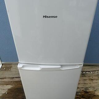 ハイセンス 2ドア 冷凍 冷蔵庫 2014年製 容量106L 冷...