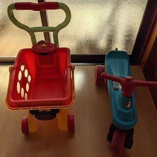三輪車 手押し車(ジャンク)