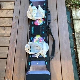 Head スノーボード(バンディング・ソフトカバー付)
