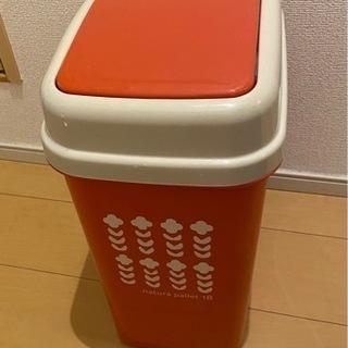 【美品】ゴミ箱 natural pallet 18 ピンク