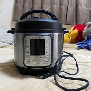 電気圧力鍋 instant pot