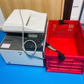 無料 プリンターとコールマンの収納コンテナボックスセット