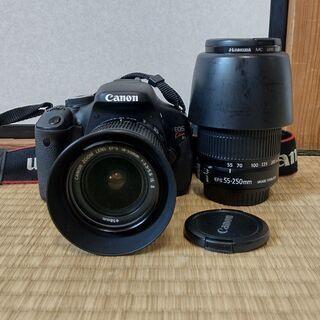 一眼レフカメラ Canon Kiss X5 純正シャッターケーブ...