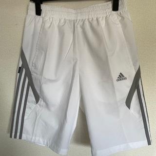 men'sハーフパンツ(adidas)白
