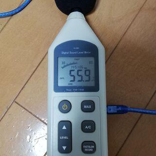 小型デジタル騒音計 デジタルサウンドレベルメーター 中古