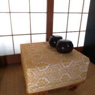 【美麗品】碁盤、碁石のセット(重さ12kg)