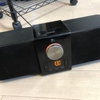 ロジクール iPhone充電+スピーカー