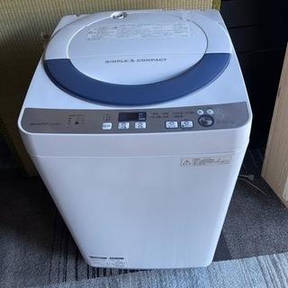 シャープ 洗濯機 2016年製 10000円