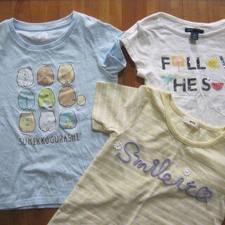 女児子供服 半袖3点セット(120・S)