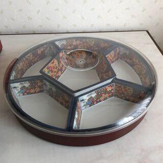 昭和レトロ 回転式 オードブル皿 セット