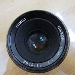 Nikon NIKKOR 50mm 1:2 3113708