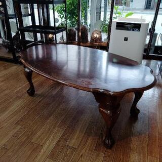 猫脚 アンティーク テーブル