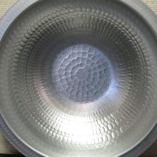 槌目和風鍋☆33cm アルミ製 アルマイト加工 軽量 うど…