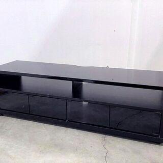 ハヤミ工産株式会社 テレビボード TV-YB140 ブラック キ...