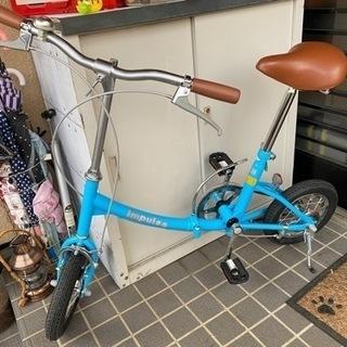 美品折りたたみ自転車✨