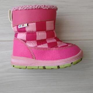 子供 ブーツ 13.0cm 女の子 ピンク 子供用シューズ 子供靴