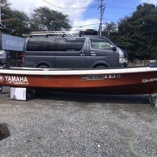 【ネット決済】ボート ヤマハFISH12  12フィート