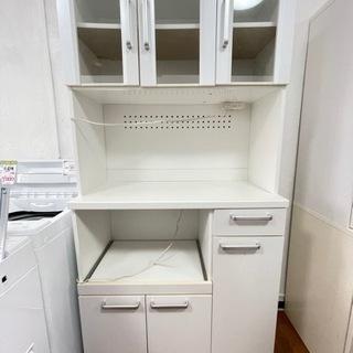 送料・設置込み キッチンボード 食器棚