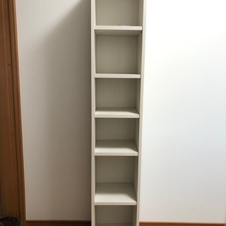 収納棚 シェルフ 隙間収納 (木製)