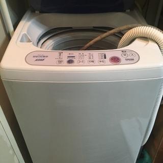 コンパクトで大活躍 東芝洗濯機