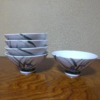 ご飯茶碗5個  未使用品