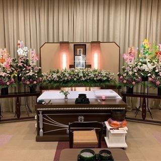シャオン高蔵寺での少人数家族葬祭壇