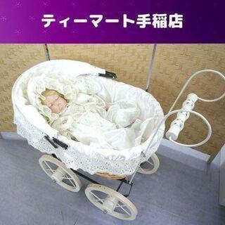 ビスクドール 赤ちゃん 約40cm ハンドメイド ファッションド...