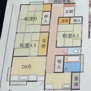 東二島の平屋戸建て⭐️静かな住宅街⭐️二島駅⭐️